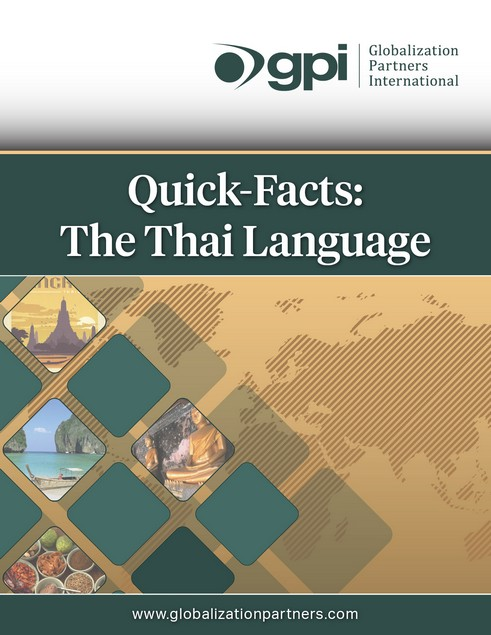 Thai Translations Quick Facts